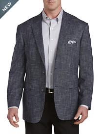 Oak Hill® Textured Jacket-Relaxer™ Sport Coat -- Executive Cut