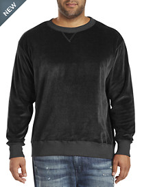 MVP Collections Velour Crewneck Sweatshirt
