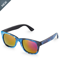 True Nation® Tie-Dyed Mirror Sunglasses