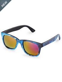True Nation® Tie-Dyed Mirror Sunglasses