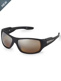 True Nation® Rubber Frame Driving Sunglasses