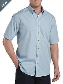 Harbor Bay® Easy-Care Check Sport Shirt