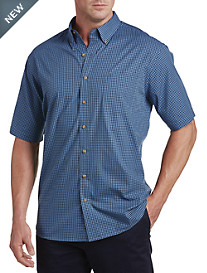 Harbor Bay® Easy-Care Check Sport Shirt