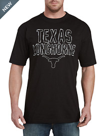 Collegiate Texas Black Pop Tee