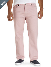 True Nation® Soft Washed Athletic-Fit Twill Pants