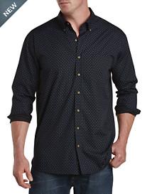 Harbor Bay® Easy-Care Dash Print Sport Shirt