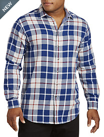 True Nation® Reversible Plaid Sport Shirt