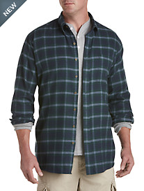 Harbor Bay® Medium Plaid Flannel Shirt
