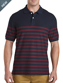 Harbor Bay® Stripe Polo