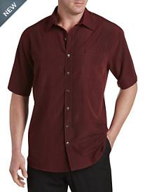 Harbor Bay® Microfiber Stripe Sport Shirt