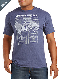 Star Wars™ TIE Fighter Blueprint Graphic Tee