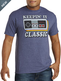 Nintendo Keeping It Classy Graphic Tee
