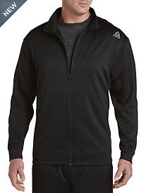 Reebok Elitage Grid Full-Zip Fleece Jacket