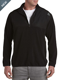 Reebok Mixed Media ½-Zip Pullover