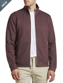 Perry Ellis® Full-Zip Knit Shirt