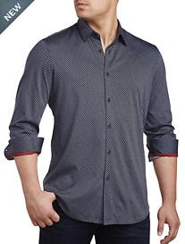 Perry Ellis® Stretch-Knit Sport Shirt