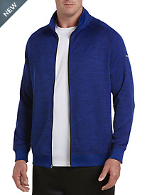 Reebok Golf Mélange Full-Zip Speedwick Fleece Jacket