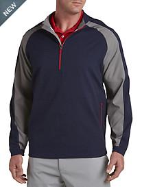 Reebok Golf Colorblock ¾-Zip Windshirt