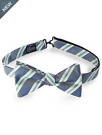 Oxford Stripe Bowtie