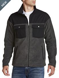 Columbia® Double Pocket Fleece Jacket