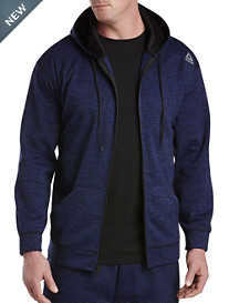 Reebok Speedwick Heathered Fleece Full-Zip Jacket