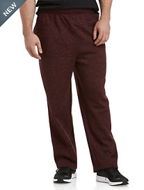 Reebok Speedwick Heathered Athletic-Fit Fleece Pants