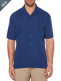 Cubavera® Stripe Panel Sport Shirt
