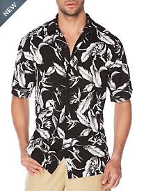 Cubavera® Floral Print Sport Shirt
