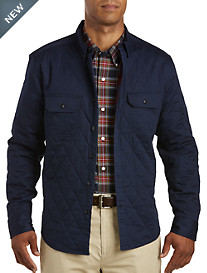 Nautica® Quilted Woven Shirt Jacket
