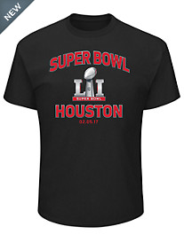 NFL Super Bowl '51 Houston Graphic Tee