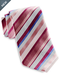 Geoffrey Beene® Silver Line Stripe Tie