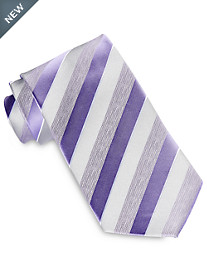 Geoffrey Beene® Moon Dust Stripe Tie