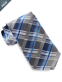 Geoffrey Beene® New Moon Plaid Tie