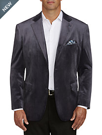 Oak Hill® Velvet Jacket-Relaxer™ Sport Coat