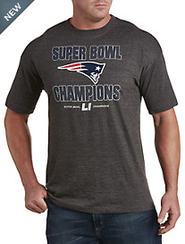 NFL Super Bowl New England Patriots Champion Run Down Tee