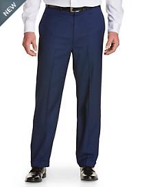 Geoffrey Beene® Birdseye Flat-Front Suit Pants
