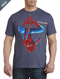 Spiderman Hanging Graphic Tee