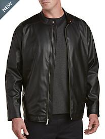 Synrgy™ Leather-Like Moto Jacket