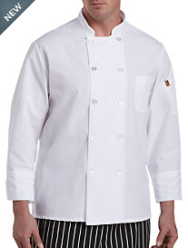 Red Kap® Pearl-Button Chef Coat