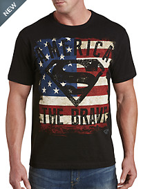 Superman America The Brave Graphic Tee