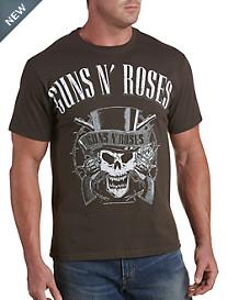 Guns N' Roses Skull Graphic Tee