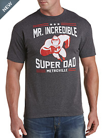 The Incredibles Sporty Super Dad Graphic Tee