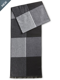 New York Accessory Stripe Colorblock Scarf