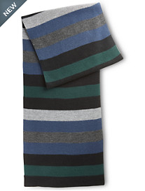 New York Accessory Stripe Muffler Scarf