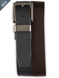 Harbor Bay® Reversible Gunmetal Belt