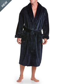 Harbor Bay® Nailshead Fleece Robe