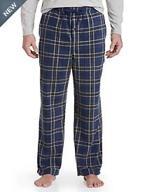 Harbor Bay® Plaid Fleece Lounge Pants