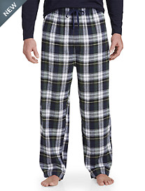 Harbor Bay® Cambell Plaid Flannel Lounge Pants