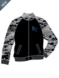 MLB Full-Zip Camo Track Jacket