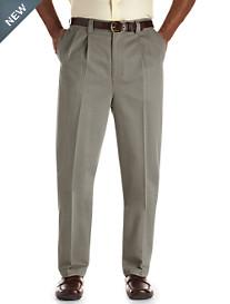 Oak Hill® Pleated Premium Stretch Twills